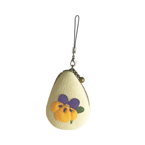 Pansy February Macaroon Pouch
