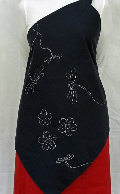 Reversible Sashiko Apron SPA-0142