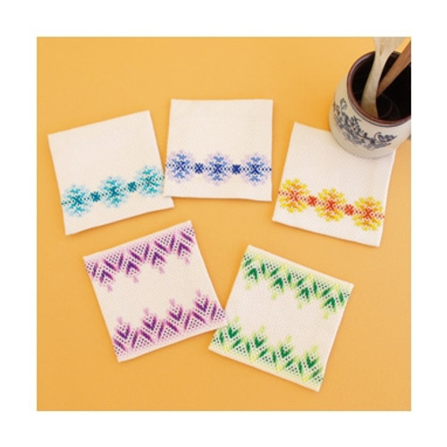 Swedish Embroidery Kit 15 - Coasters SW-15