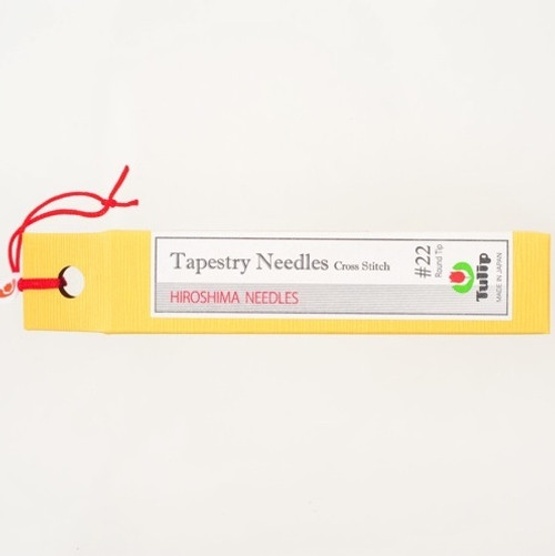 Tapestry Needles Cross Stitch #22 Round Tip THN-025e