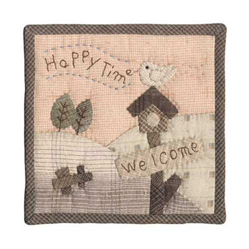 Welcome Happy Time Small Quilt PA-506