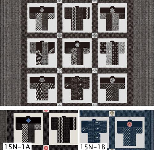 Takumi Kimono Panel Black 15N-1A