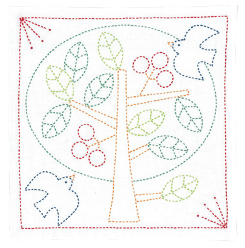 Peace Tree Sashiko Kit