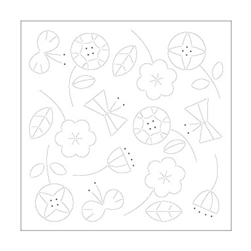 Happy Flowers & Butterflies SS-H-1028