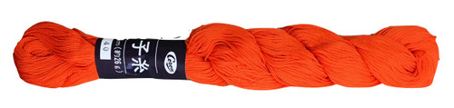 Bright Orange Coron Sashiko Thread