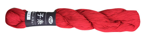 Bright Red Coron Sashiko Thread