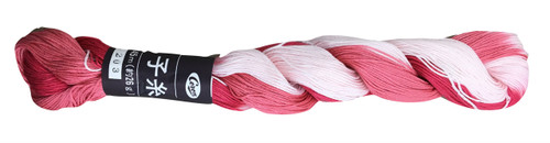 Coron Sashiko Thread Fairy Floss Pink
