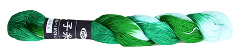 Rainforest Green Coron Sashiko Thread