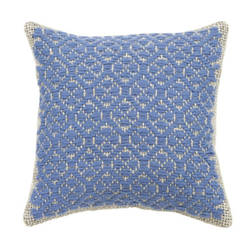 Kogin Kit Blue Cushion