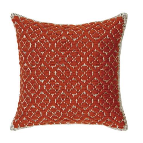 Kogin Kit Red Cushion