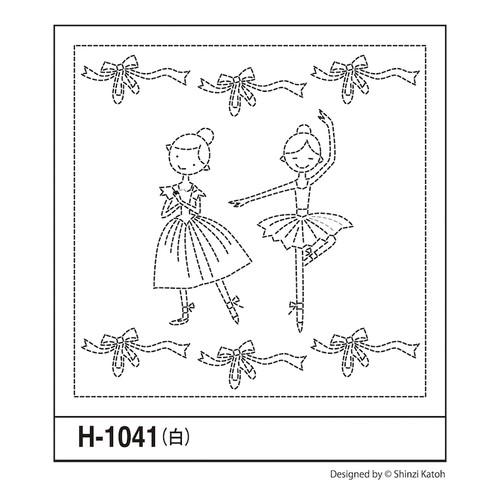 Shinzi Katoh Ballerina Lesson Sashiko Sampler
