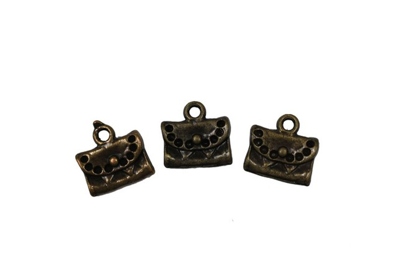 3 Bags Metal Zip-Pulls FK20-AG