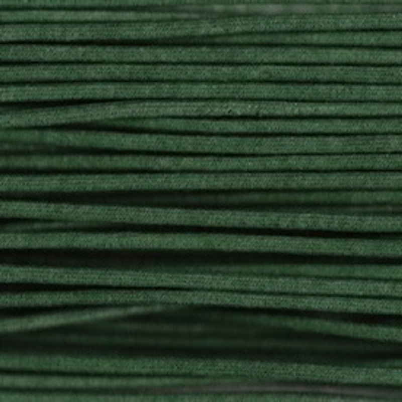Waxed Cotton Cording Green WCC-13