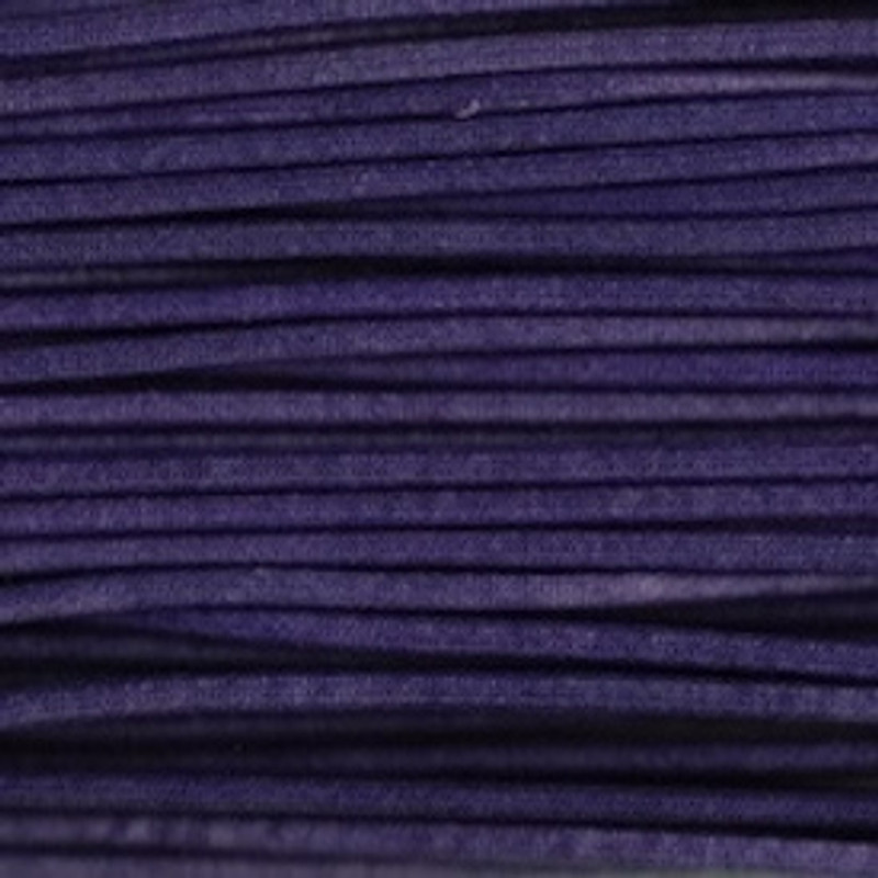 Waxed Cotton Cording Purple WCC-17