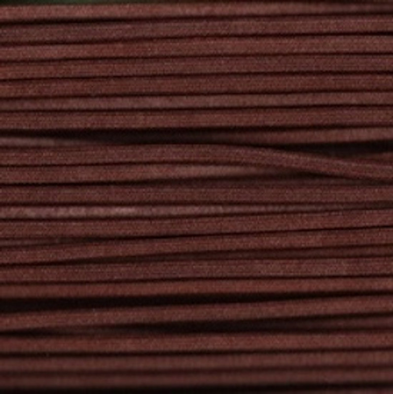 Waxed Cotton Cording Chocolate WCC-24