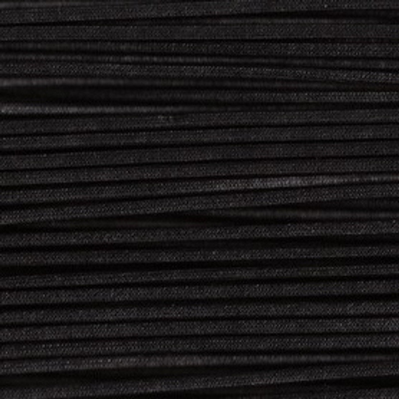 Waxed Cotton Cording Black WCC-26