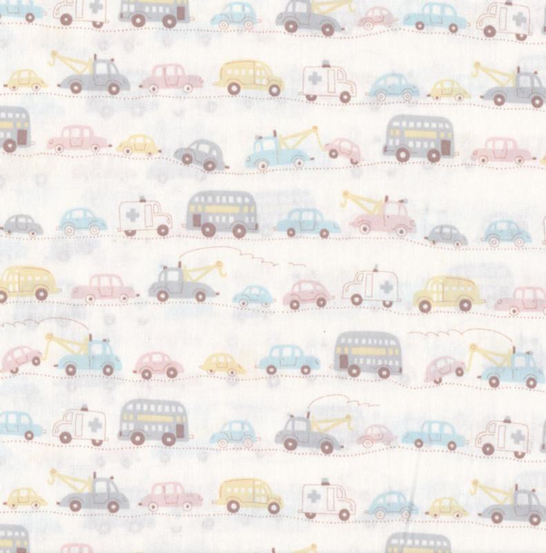 Automobiles Pale on White