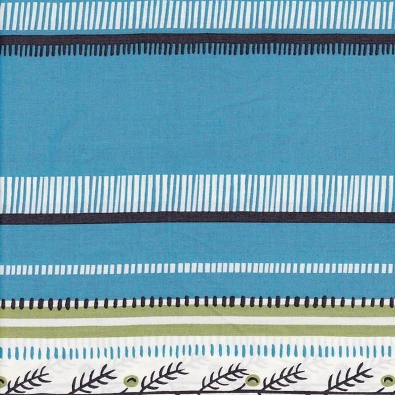 Blue Cotton Print
