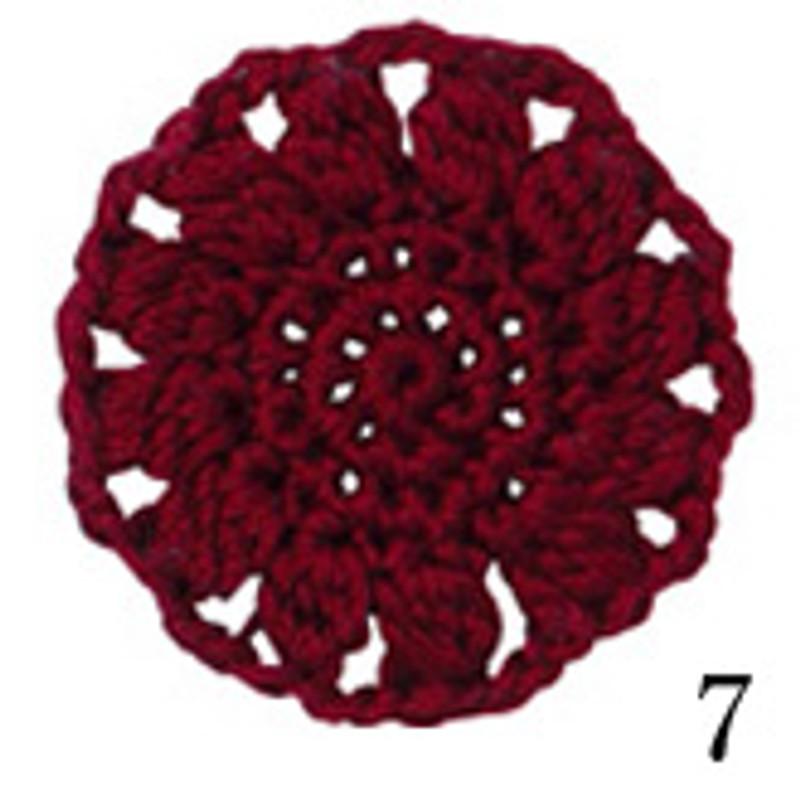 Cotton Cuore Dark Red CC-7