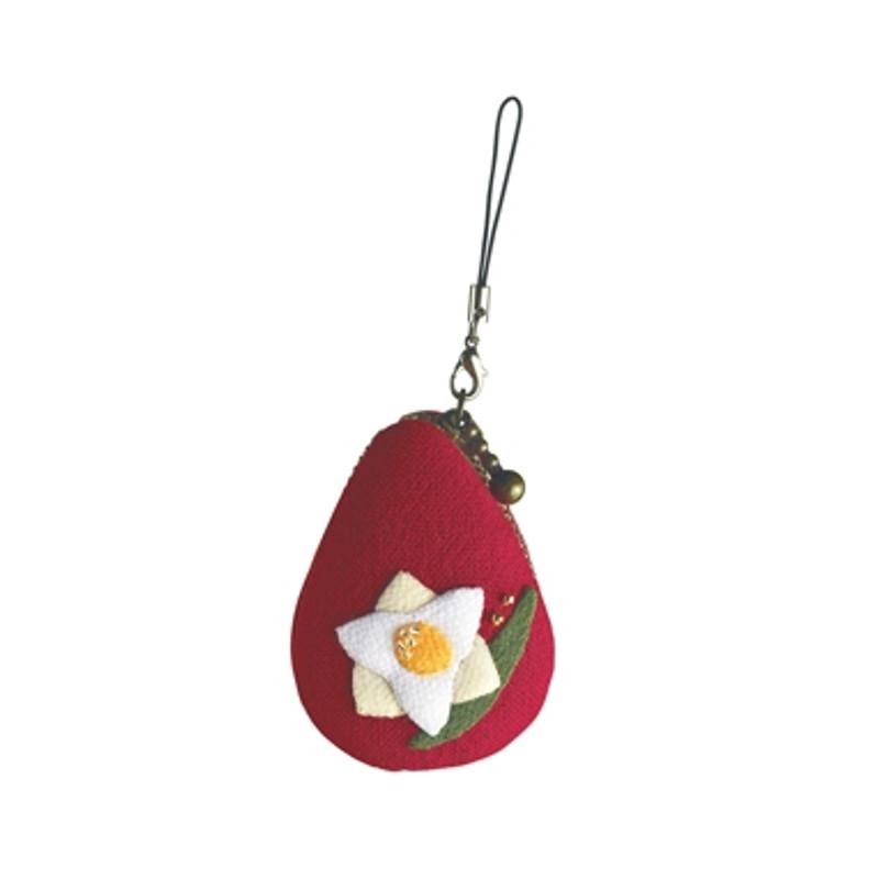 Daffodil November Macaroon Pouch