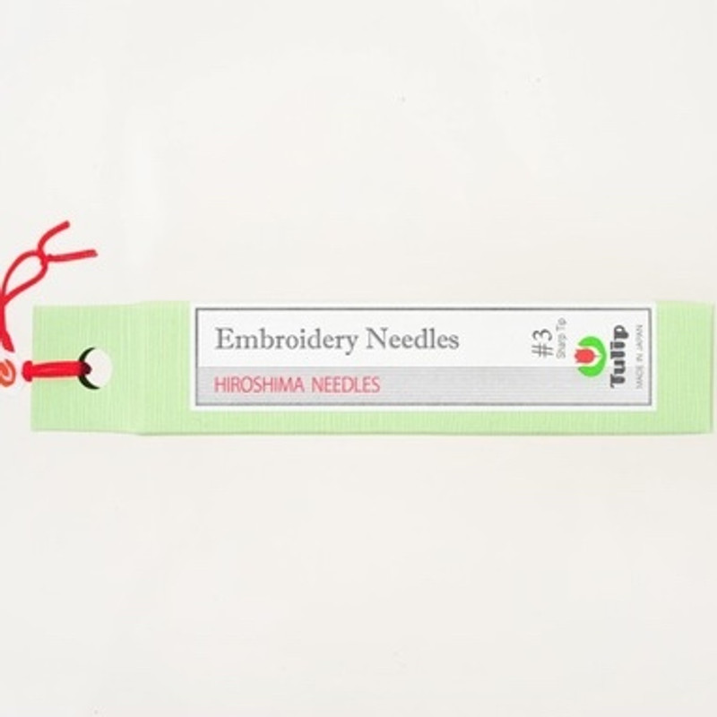 Embroidery Needles #3 Sharp Tip