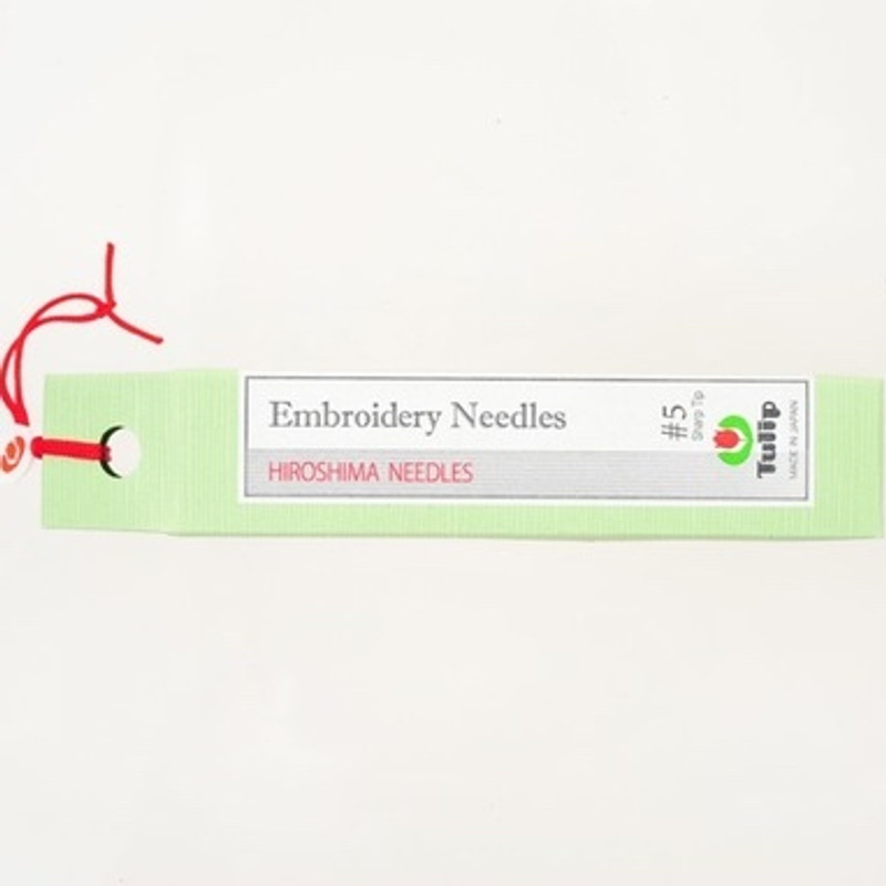 Embroidery Needles #5 Sharp Tip
