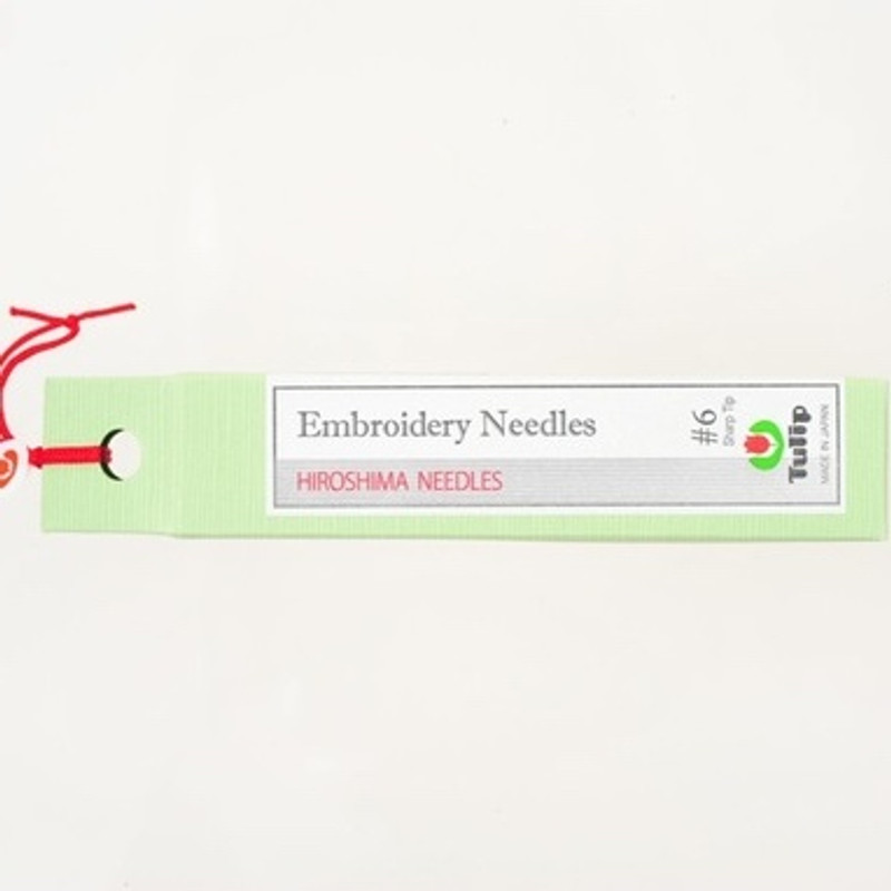 Embroidery Needles #6 Sharp Tip