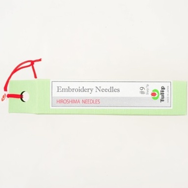 Embroidery Needles #9 Sharp Tip