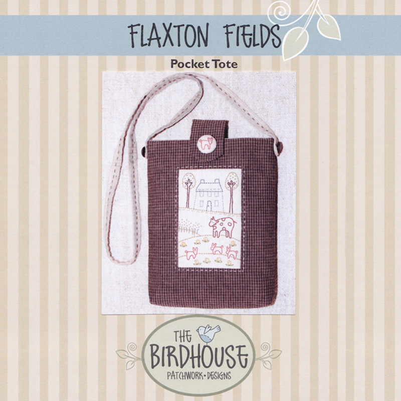 Flaxton Fields - Pocket Tote BPD-D275