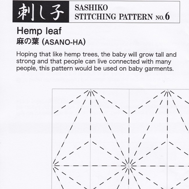 Hemp Leaf (Asano-Ha) PSS-6