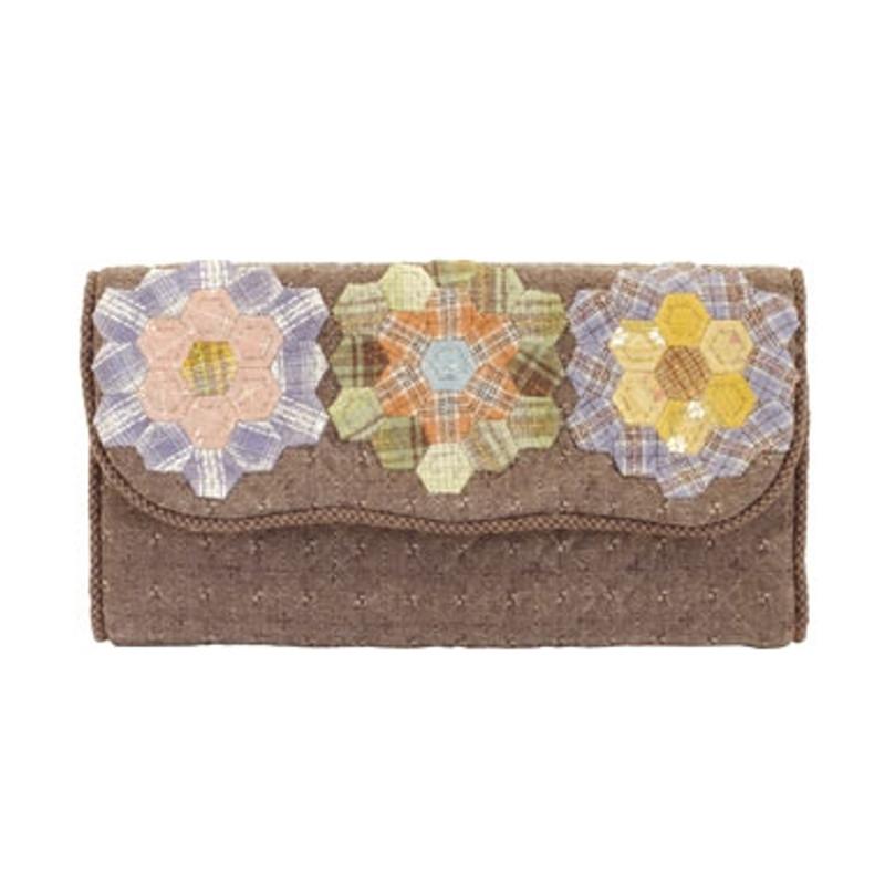 Hexagonal Flowers Wallet PA-617