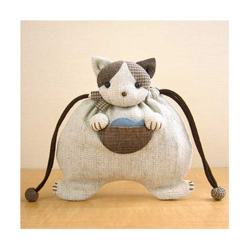 Kitty Drawstring Pouch PA-499