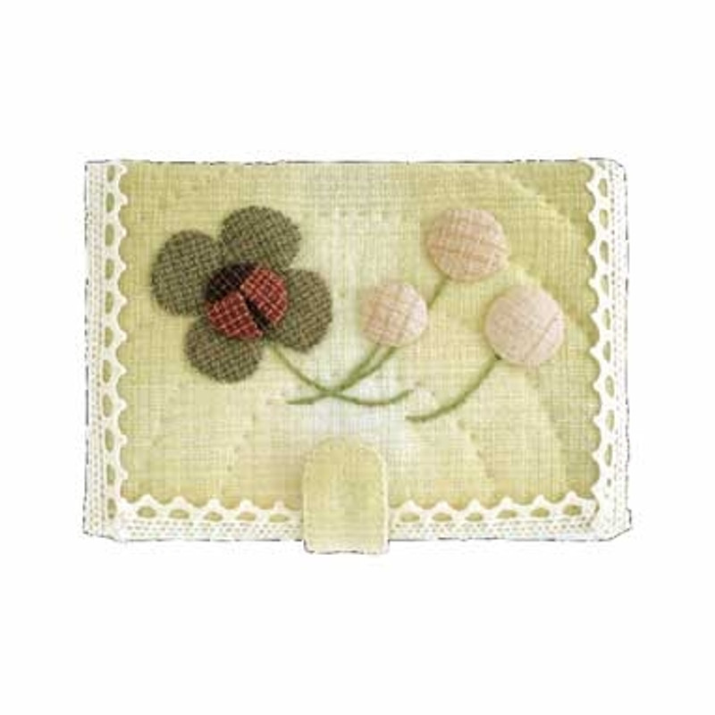 Lady Bug & Clover Card Holder PA-539