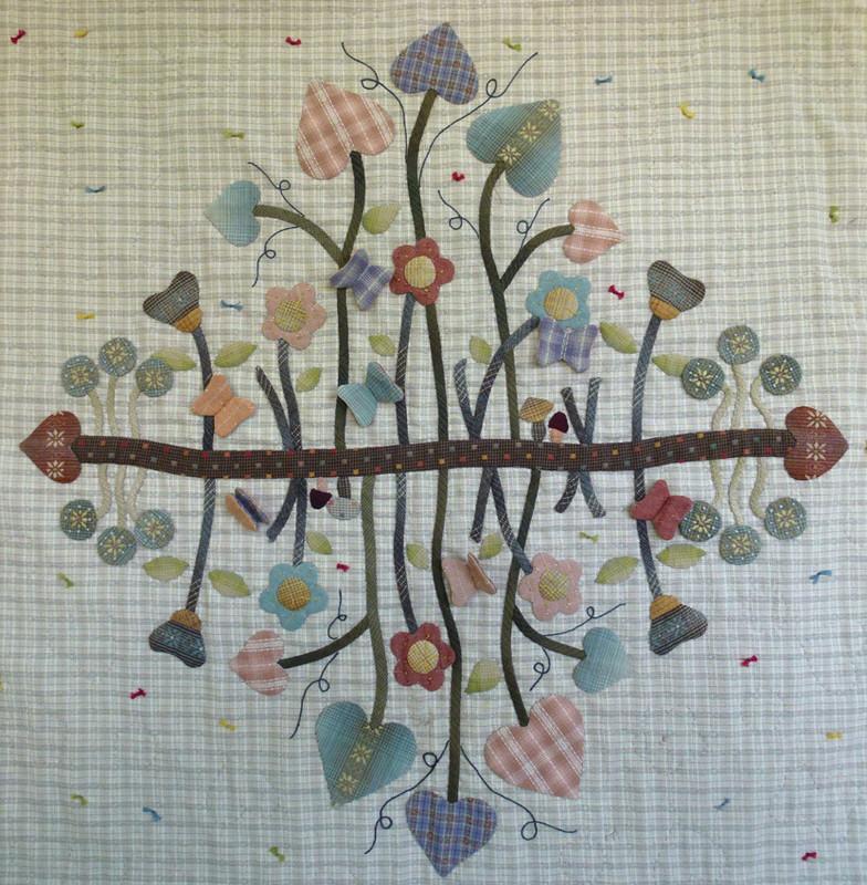 Secret Garden Applique Quilt Pattern PASG-2013