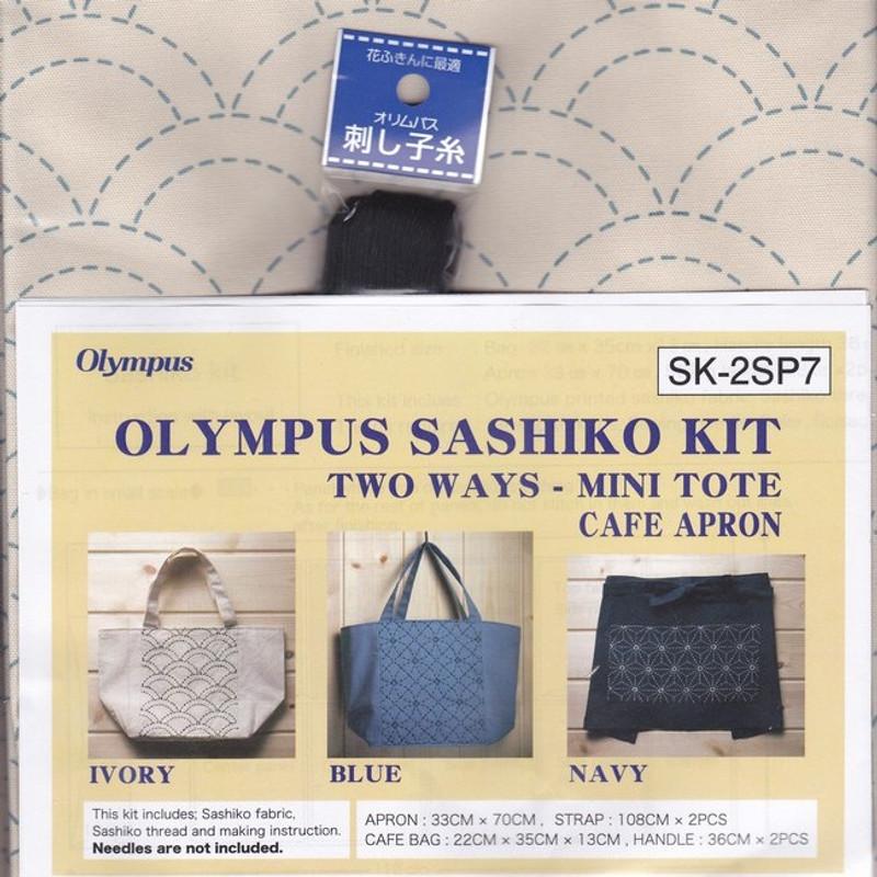 Olympus Sashiko 2-way Kit Seikaiha Off-White