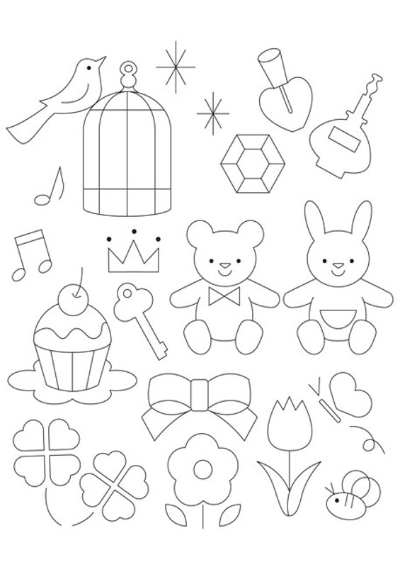 Free Cupcakes & Ribbons Template Download