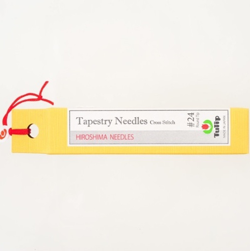 Tapestry Needles Cross Stitch #24 Round Tip THN-027e