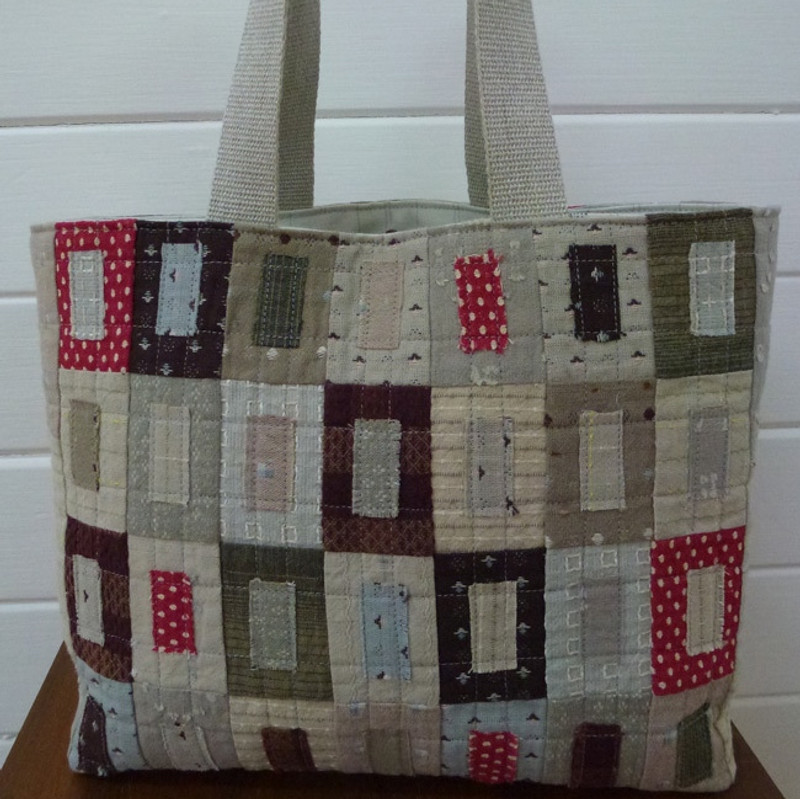 Window Shopper Shopping Bag Pattern