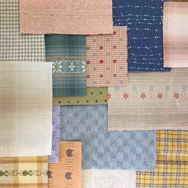 Boro Inspired Fabric Pack Light