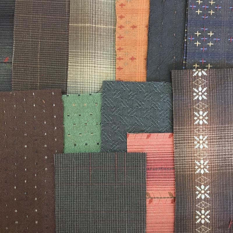 Boro Inspired Fabric Pack Dark
