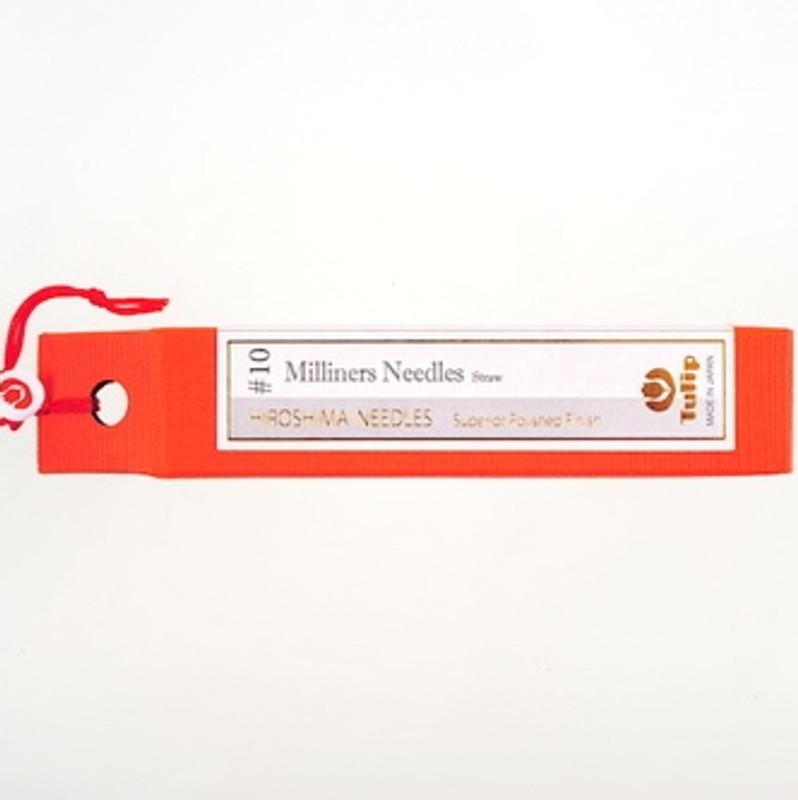 Milliners Needles Straw #10 Big Eye