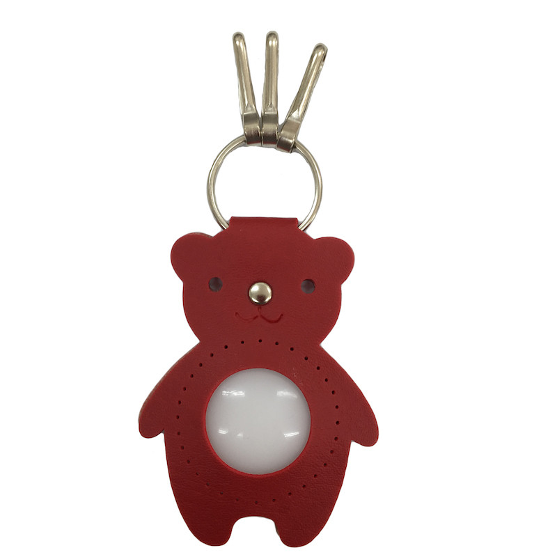 Teddy Keyring Red