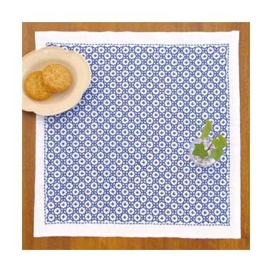 Sashiko Kit Linked Crosses  BeBe Bold Japanese Textiles