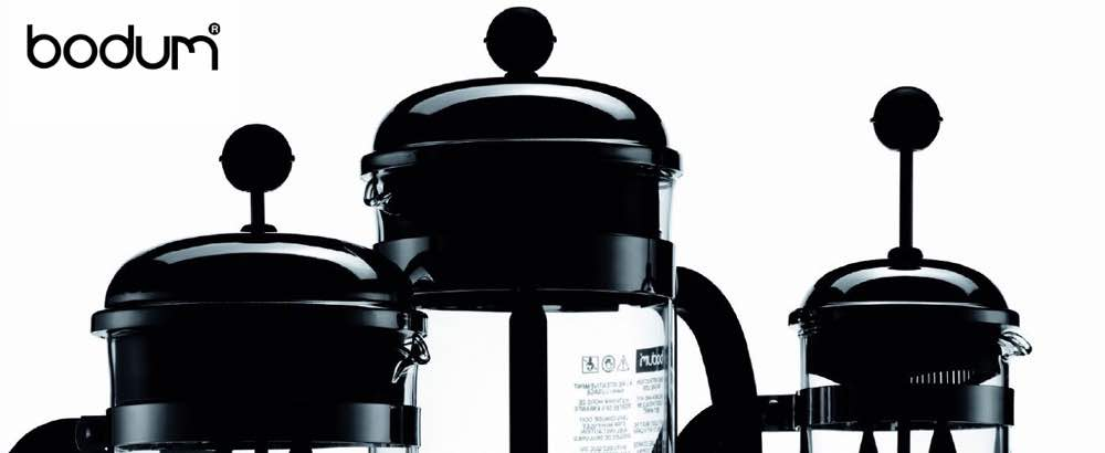 coffee brewers using french press method.