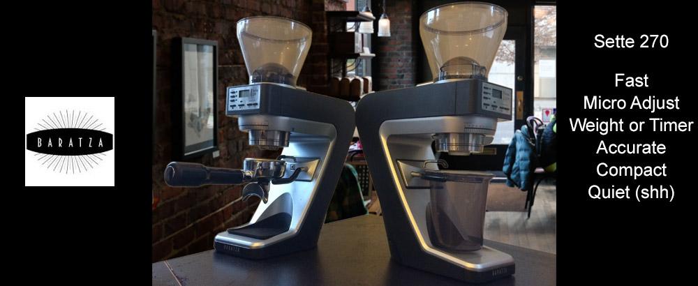 Baratza Sette Coffee Grinders