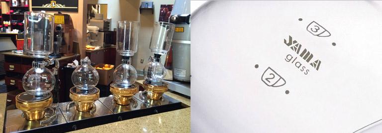 yama coffee siphons