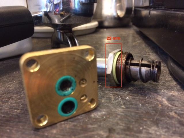Rancilio Silvia solenoid valve cleaning