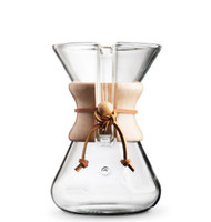 Chemex hand blown 5 cup coffee maker