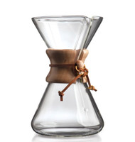 Chemex hand blown 8 cup coffee maker