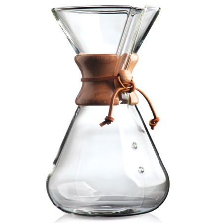 chemex 13 cup hand blown coffee maker